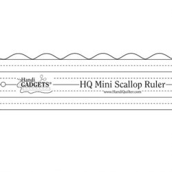 ruler mini scallop