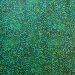 Quilting Treasures green