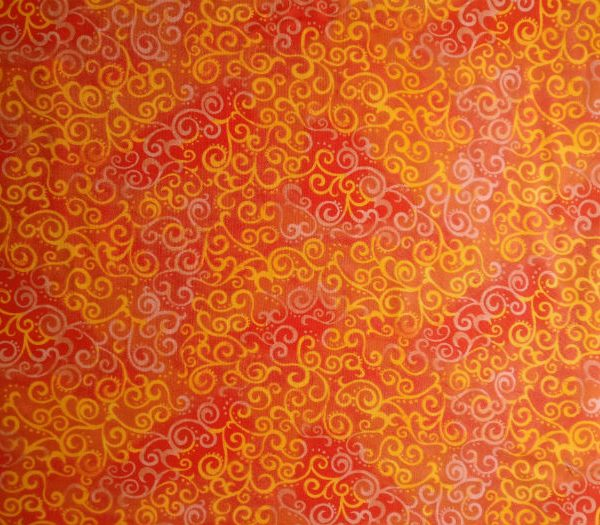 Quilting Tresures orange